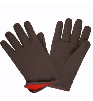 GLOVES C-16001 JERSEY RED LINED