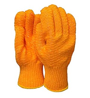 GLOVES #4707 HONEYCOMB/ORANGE