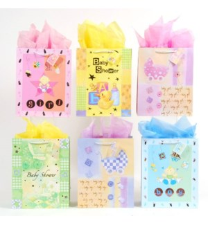 GIFT BAG #PMLL33 BABY SHOWER PRINT