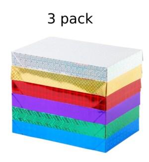 HOLOGRAM GIFT BOX #GB998M ASST