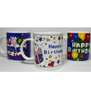CERAMIC MUG #1351 BIRTHDAY