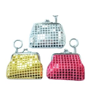 COIN PURSE #7596 W/SEQUINES