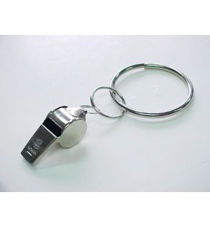 WHISTLE KEYCHAIN #66262 ASST
