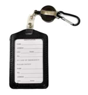 ID HOLDER #67807B VERTICAL RECTRACTABLE