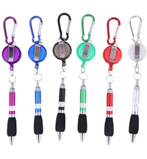 RETRACTABLE PEN KEYCHAIN 67861