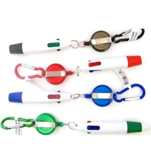 RETRACTABLE PEN #67882 4 COLOR PEN
