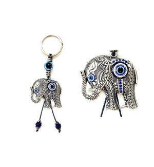 KEYCHAIN #68123 EVIL EYES ELEPHANT