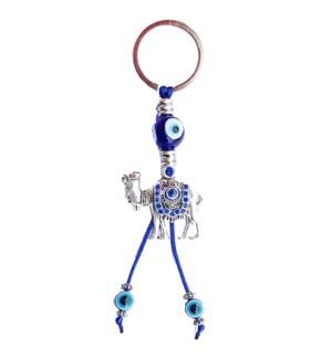 KEYCHAIN #68139 CAMEL W/BLUE STONES