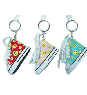 KEYCHAIN #68744 SMILEY FACE SNEAKER