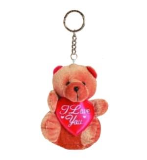 KEYCHAIN #68914 BROWN BEAR