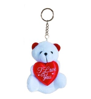 KEYCHAIN #68915 WHITE BEAR