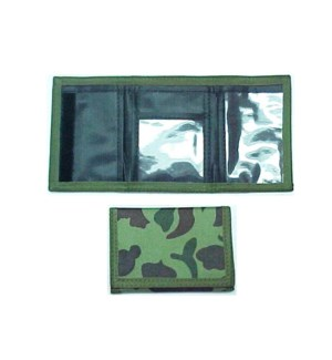 WALLET #91165 VELCRO CAMOUFLAGE