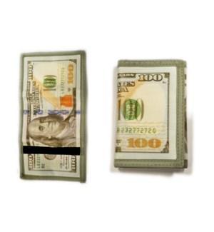 WALLET #91187 BIFOLD W/MONEY PRINT