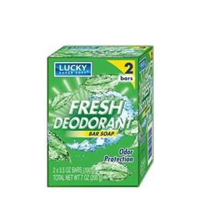 LUCKY #2621 FRESH DEOD.BAR SOAP