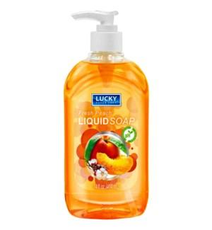 LUCKY HAND SOAP #3203 FRESH PEACH