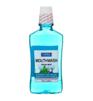 LUCKY MOUTHWASH #10051 FRESH MINT