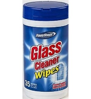PH #10131 GLASS CLEANER WIPE CANISTER