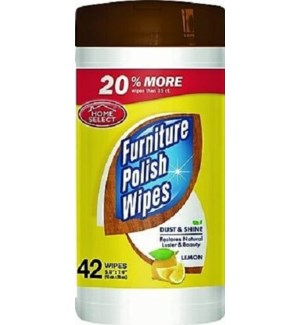 PC #10132 FURNITURE POILSH CLEANER WIPE CANIST