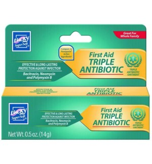 LUCKY #10372 TRIPLE ANTIBIOTIC OINTMENT
