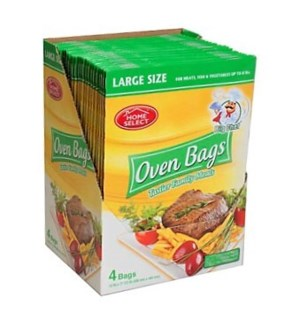 HOME SELECT OVEN BAGS #10750 LARGE SIZE