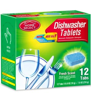 H.S. #10845 AUTO DISHWASHER TABLETS