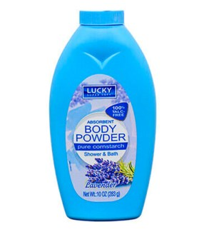 LUCKY POWDER #11212 CORNSTARCH LAVENDER BODY