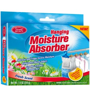 HOME SELECT #11263 MOISTURE ABSORBER FRESH SCENT