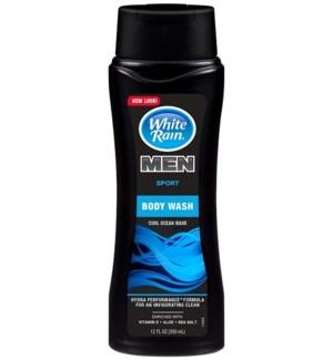 WHITE RAIN #0028 SPORT MEN'S BODY WASH