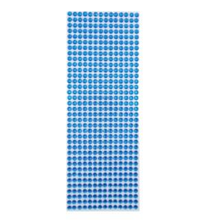 AC #SS-012 STONE STICKERS, ROYAL BLUE