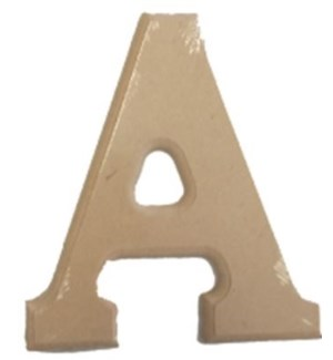 WOOD LETTERS -A