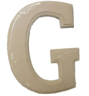 WOOD LETTERS -G