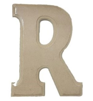 WOOD LETTERS -R