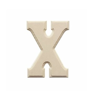 WOOD LETTERS -X