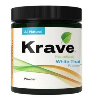 KRAVE WHITE THAI KRATOM 120G
