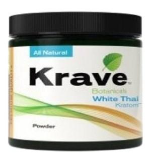 KRAVE WHITE THAI KRATOM 60G