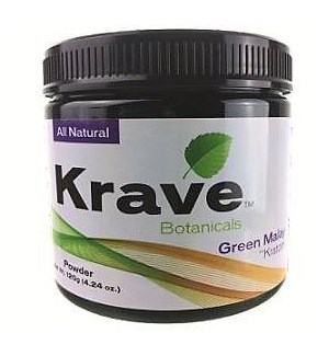 KRAVE GREEN MALAY KRATOM 120G