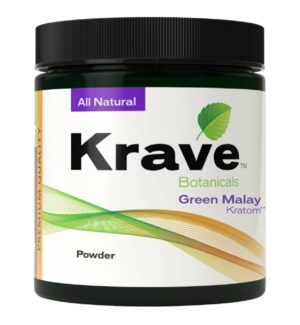 KRAVE GREEN MALAY KRATOM 60G