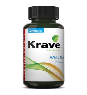 KRAVE WHITE THAI KRATOM 500CT