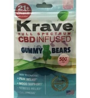 KRAVE GUMMY BEARS CBD INFUSED