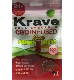 KRAVE SOUR GUMMY BEARS