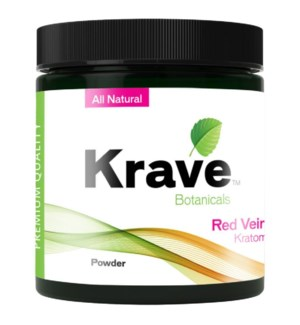 KRAVE RED VEIN KRATOM 60G