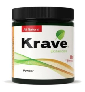 KRAVE RED VEIN KRATOM 120G