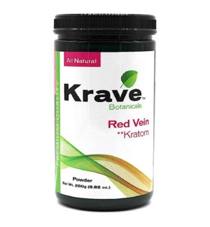 KRAVE RED VEIN KRATOM 250G
