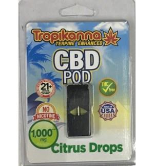 CBD POD CITRUS DROPS