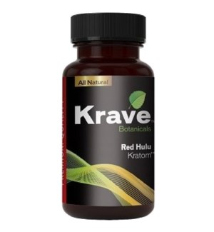 KRAVE RED HULU KRATOM 75CT