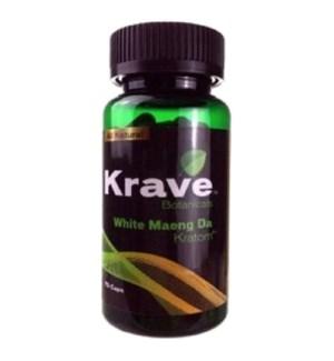 KRAVE WHITE MAENG DA KRATOM 75CT