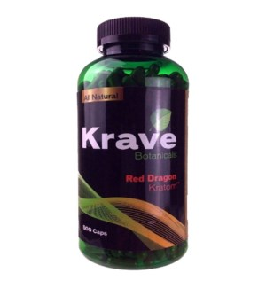 KRAVE RED DRAGON KRATOM 500CT