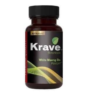 KRAVE WHITE MAENG DA KRATOM 500CT