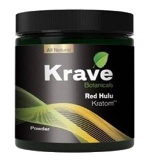 KRAVE RED HULU KRATOM 60G