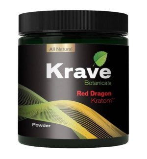 KRAVE RED DRAGON KRATOM 120G
